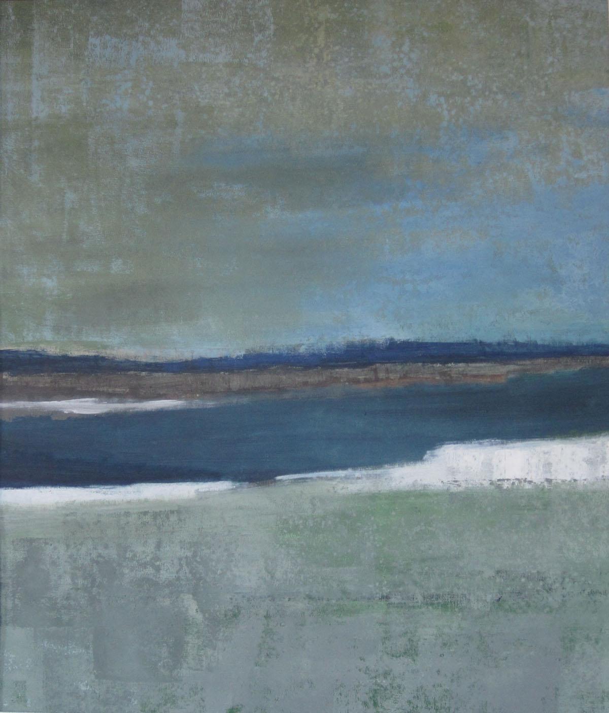 Winter2, 2011, Mischtechnik auf Leinwand, 90x80cm, 2011
