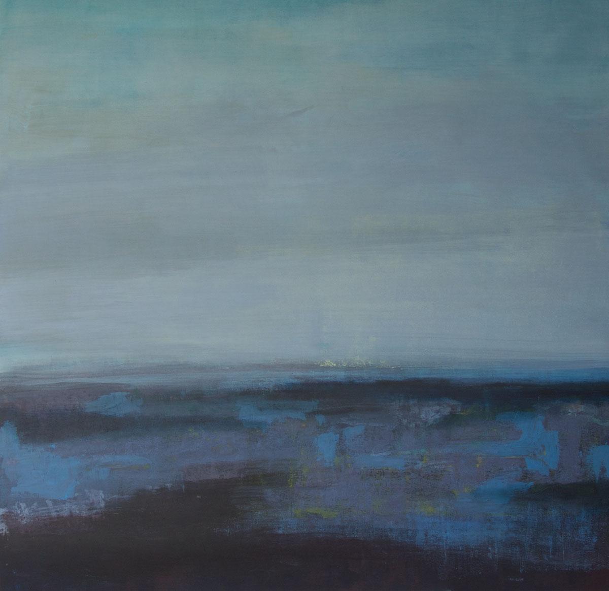 ohne Titel, Acryl, 110 x 110 cm, 2015