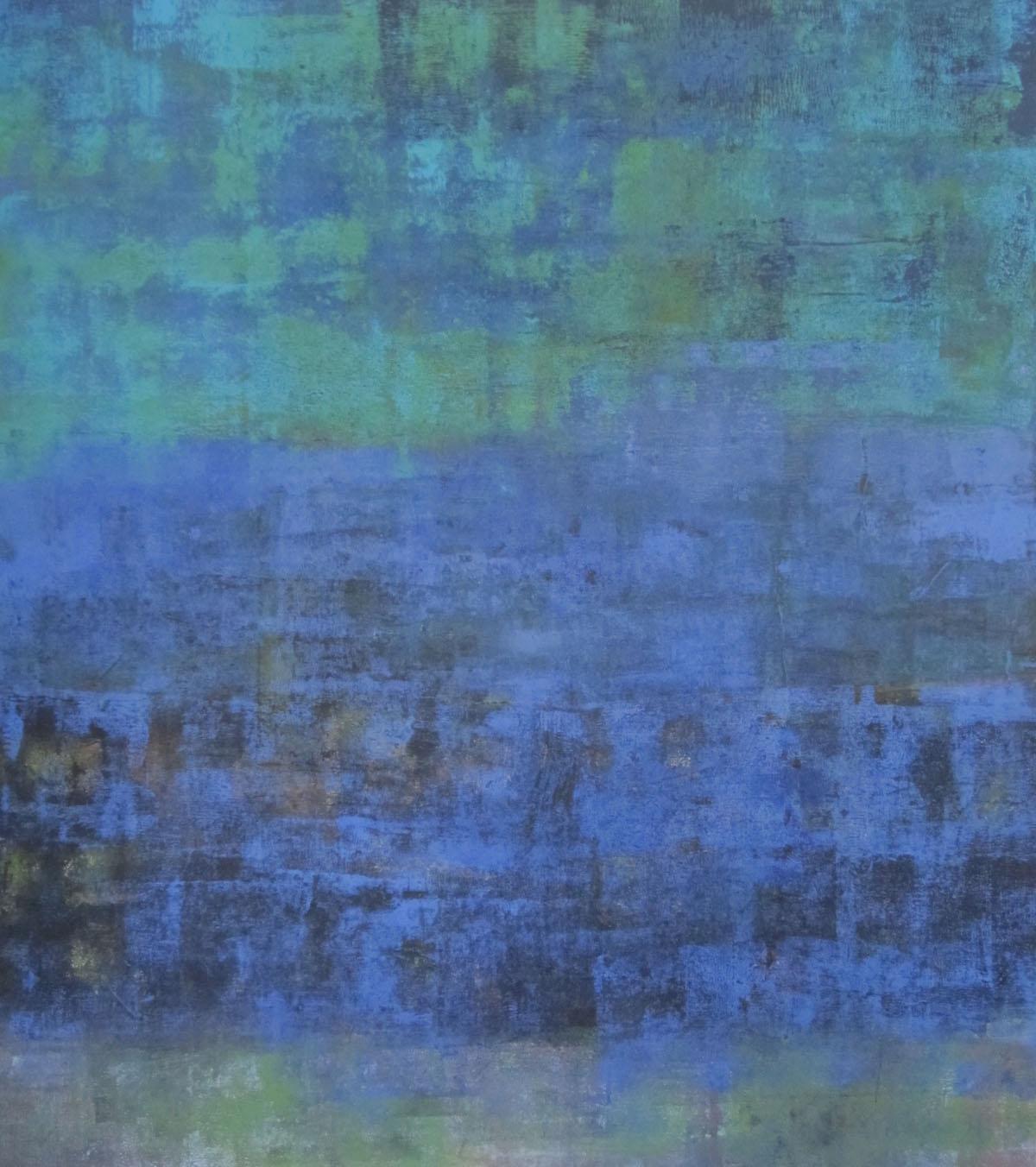 ohne Titel, Mischtechnik auf Leinwand, 90x80cm, 2013