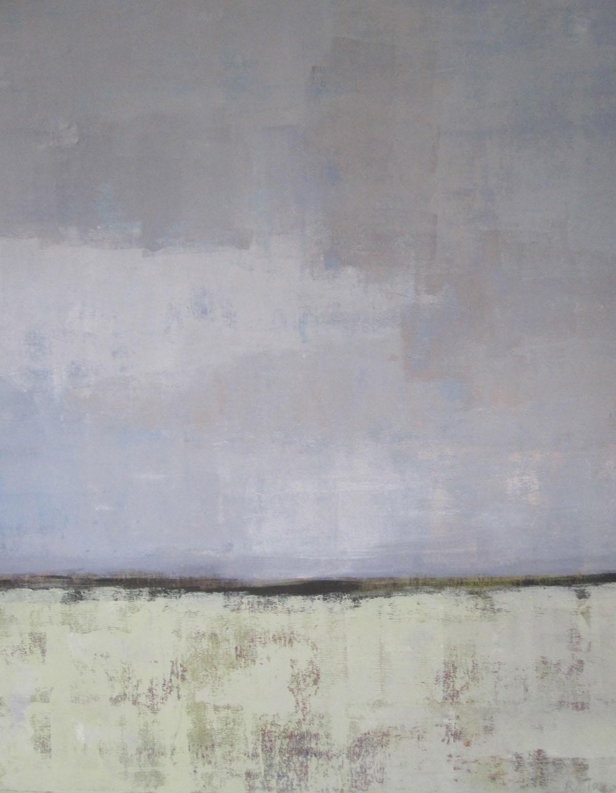 ohne Titel (1), Mischtechnik auf Leinwand, 90x80cm, 2013