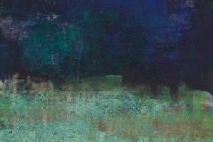 Schwedischer Sommerabend (2), Mischtechnik auf Papier, 18,8x22cm, 2015