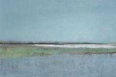 Winter2011, Mischtechnik auf Leinwand, 90x80cm, 2011