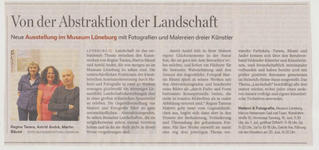 Artikel aus dem Hamburger Abendblatt vom 15./16. Juni 2019